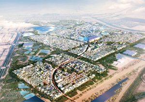 Masdar City in Abu Dhabi