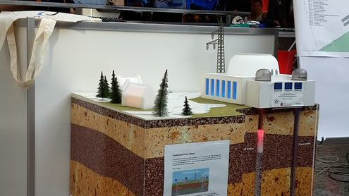 geothermal energy power station